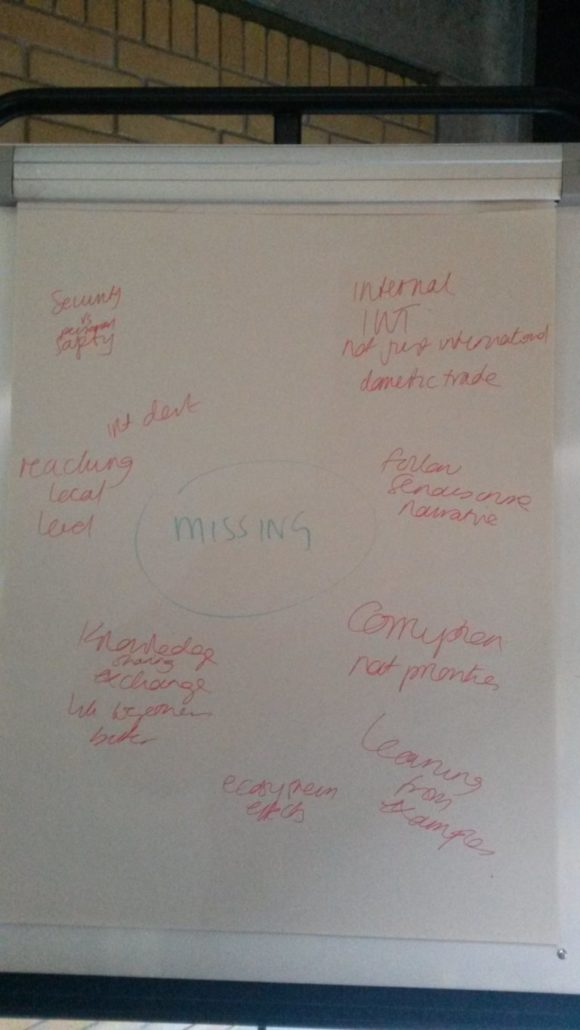 Biodiversity and Security flipchart