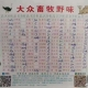 Menu of a wild meat restaurant in Wuhan Huanan seafood market, where civet, bamboo rat and other animals were sold. Photo credit: weibo