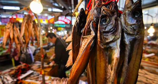 A fish market in Seoul, South Korea. Rodrigo Oyanedel